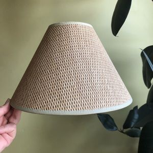 Other - Woven Light Brown Lamp Shade